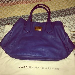 Royal blue Marc by Marc Jacobs hobo crossbody bag